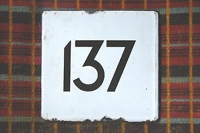 LONDON TRANSPORT BUS STOP E-PLATE for Route 137