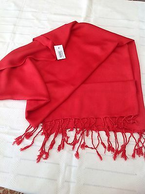 Christmas Red lightweight Pashmina/Scarf