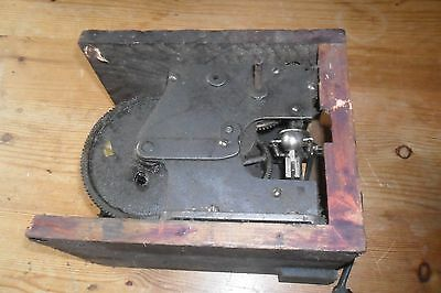 A Large Victorian disc Music Box motor