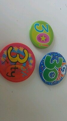 3 badges age 30 #look##