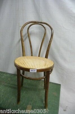 5035. Alter Bugholz Stuhl Old wooden chair