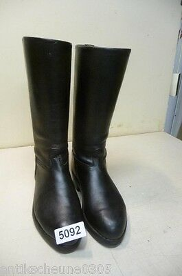 5092. Alte Militärstiefel Stiefel Old Military Leather Boots