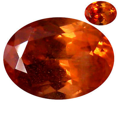 1.38 ct RARE NATURAL FROM EARTH MINED COLOR CHANGE MALAYA GARNET