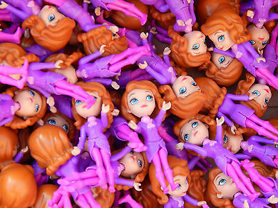 "100 x Disney Princess 3"" doll Sofia the First. Wholesale! Job lot!"