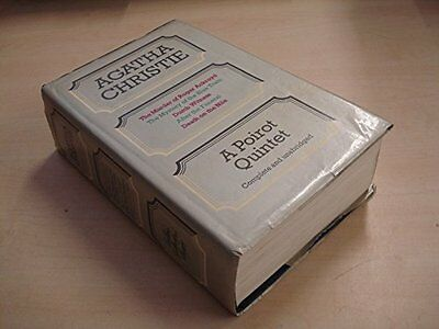 Poirot Quintet, Christie, Agatha Hardback Book The Cheap Fast Free Post