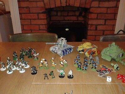 Warhammer 40,000 2nd Edition Imperial Guard - collection