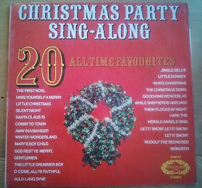 Christmas Party Sing A Long - Vinyl LP Record - White Christmas, Silent Night