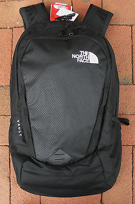 The North Face Vault Backpack -Daypack- Laptop Sleeve- #chj0 - Tnf Black- New