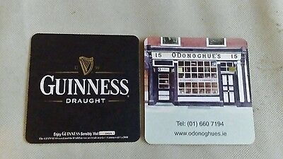 GUINNESS  BEER MATS Two 2008 New.