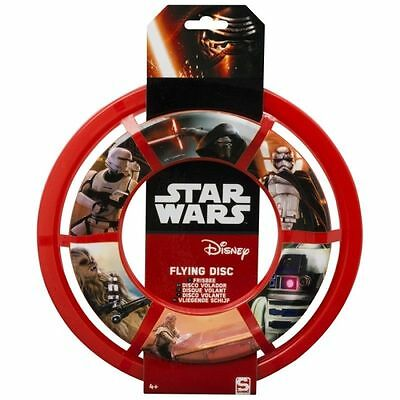 STAR WARS RED FLYING DISC FRISBEE GAMES FUN CHRISTMAS GIFT DISNEY Christmas Gift