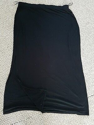 Womens long skirt black size 22 from George