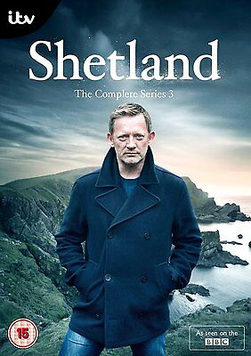 Shetland The Complete Series 3 DVD New And Sealed
