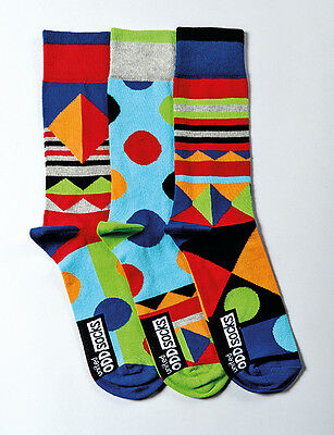 United Oddsocks  - Assorted Mens Socks - Funky Socks for Dad - Fathers Day