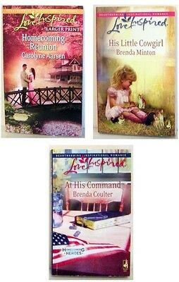 Lot Of 3 - Love Inspired  Romance Pb Books E By Steephill-#2