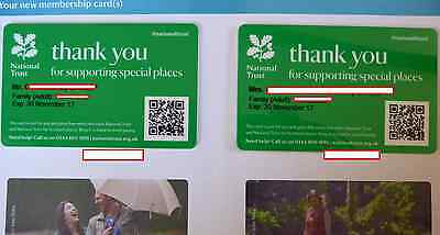 National Trust Membership 12 Months Family 2 Adults + Children