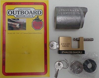 Outboard Motor Engine Bolt Security Lock Marine Boat Yacht Motorboat - New A53