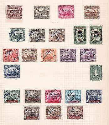NICARAGUA  ^^^^1936   RARER  mostly  mint AIRPOSTS  $$$@f6119xxbnica
