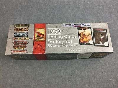 Set of Advanced Dungeons + Dragons 2nd edit. 1992 Trading cards