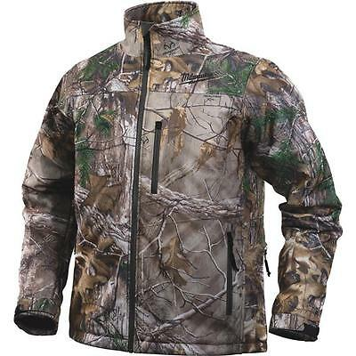 Extra Large XL Milwaukee M12 Cordless Realtree AP Camo Heated Jacket Kit