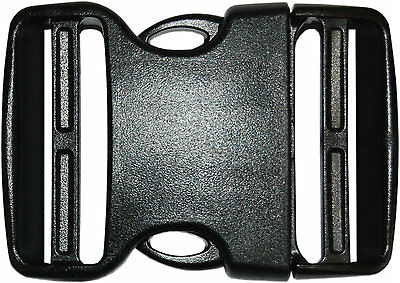 Single 50mm Curved Side Release Buckle