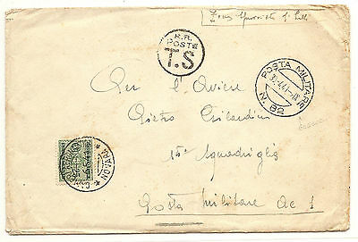 Italy Military In Albania PM N.82  To PM  Postage Due In Novara  1941