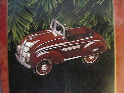 1997 Hallmark 1937 STEELCRAFT AIRFLOW By Murray Ornament KIDDIE CAR CLASSICS