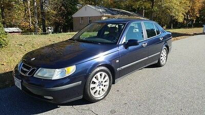 2003 Saab 9-5 Linear 2003 saab 9-5 Midnight Blue 2.3 Turbo Manual