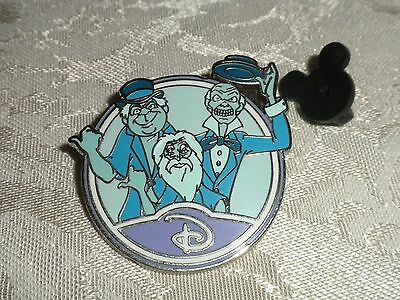 Disney Pin Haunted Mansion Hitchhikng Ghosts Mystery Circle D Authentic New