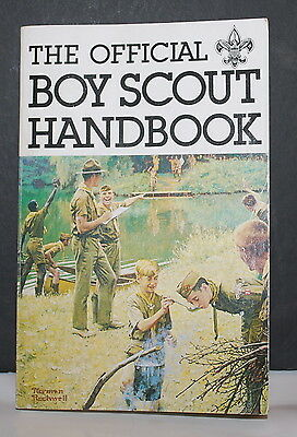 Boy Scouts of America Vintage Handbook Signed By William Hillcourt 1979 RARE