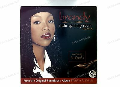 Brandy - Sittin' Up In My Room (Remix) US Maxi 1996 //1