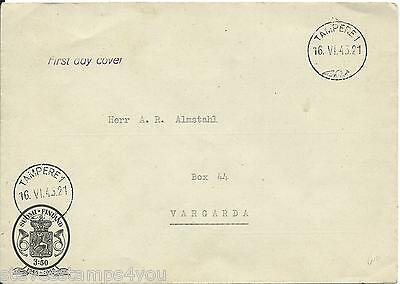 Finland - 1945 - First Day Cover - 1845 To 1945
