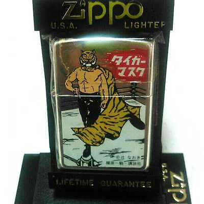 Zippo Tiger mask Limited Edition Anime Manga ligter figure Japan 1997 VERY RARE