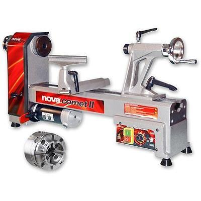 Nova Comet II VS Midi Lathe & G3 Reversible Chuck - Package Deal