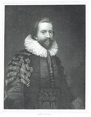 Lionel Cranfield, Earl of Middlesex- Merchant & Politician - After Daniel Mytens