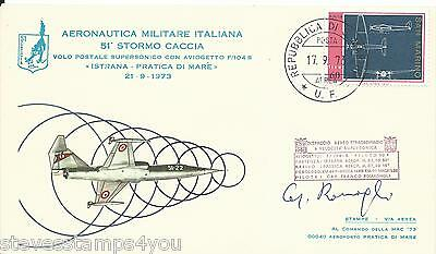 San Marino - 1973 - SG978 - Signed Cover