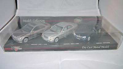 Mercedes-Benz model set by High Speed,1/43 scale.