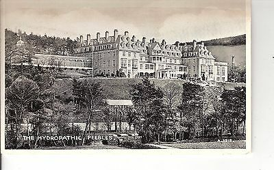 The hydropathic Peebles early postcard