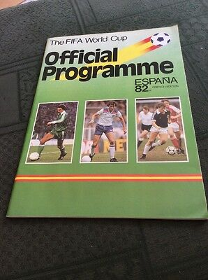 World Cup 1982 Official Programme French Edition