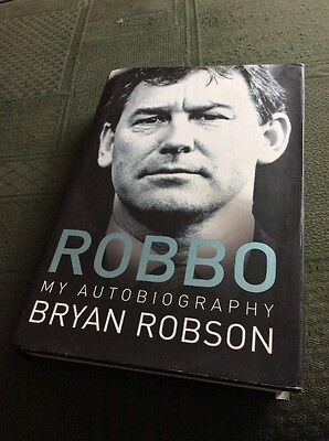 Robbo, Bryan Robson Autobiography, Signed