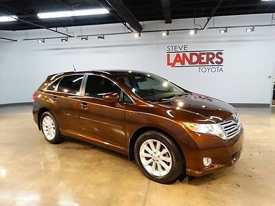 2009 Toyota Venza  CERTIFIED ALLOY WHEELS SUNSET BRONZE CLEAN CARFAX 2.5L CALL NOW WE FINANCE