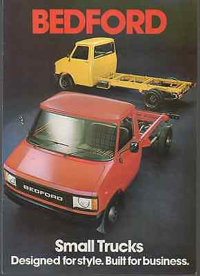 Bedford Small Trucks  1980 - 8 Sides (C5)