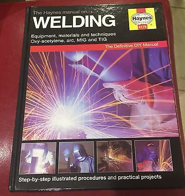 The Manual On Welding 4176 Haynes New