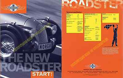 Morgan Roadster Brochure 2002 8 Sides Near Mint Condition