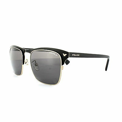 Police Sunglasses S8949 Momentum 1 315P Black Grey Polarized