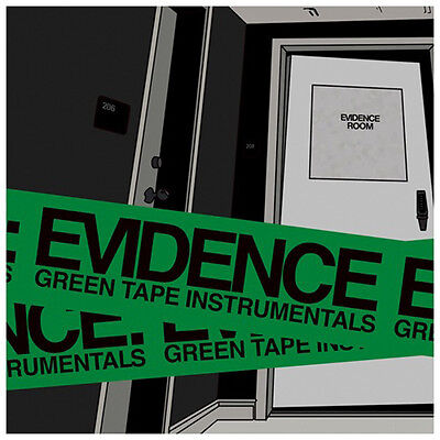 Evidence – Green Tape Instrumentals LP NEW sealed Decon