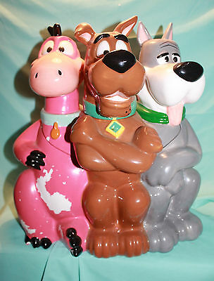 Hanna Barbera Cookie Jar Dino Astro and Scooby Doo