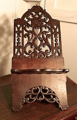 Large French Arts and Crafts Book Rest, Ecclesiastical Reading Stand, Lutrin