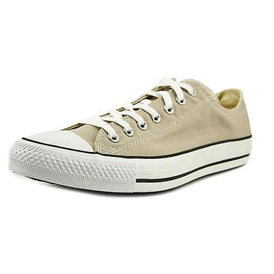 Converse Chuck Taylor All Star OX Men  Round Toe Canvas Tan Sneakers