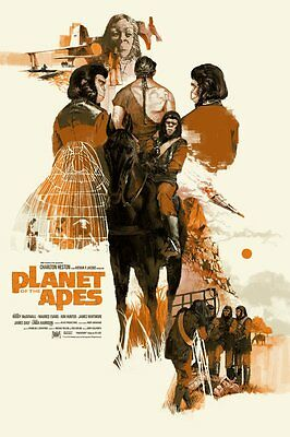 Mondo Planet of the Apes Marc Aspinall Print Poster limited edition 365