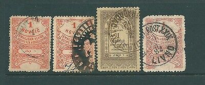 A collection of stamps from BOSNIA - Fiscal/Revenue group